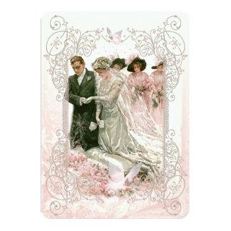 Victorian Wedding - Invitation Card