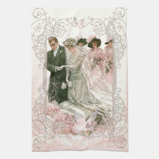 Victorian Rose Kitchen Towels | Zazzle