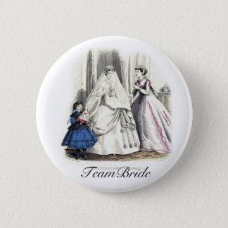 Victorian Wedding Pinback Button