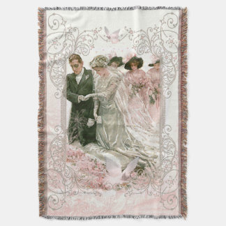 Victorian Wedding - Throw Blanket