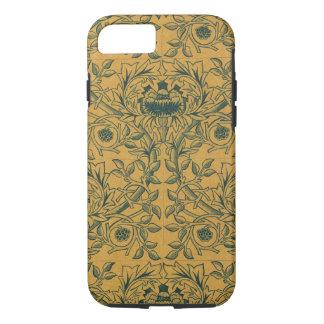 Victorian William Morris Floral Textile Pattern iPhone 7 Case