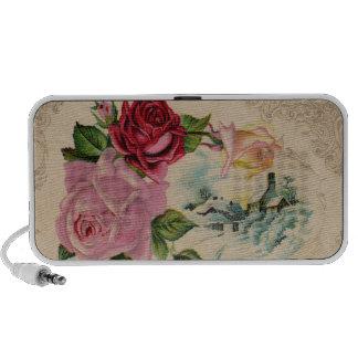 Victorian Winter Roses Speakers