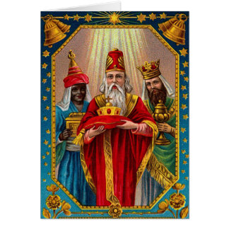 Victorian Wise Men Christmas Card