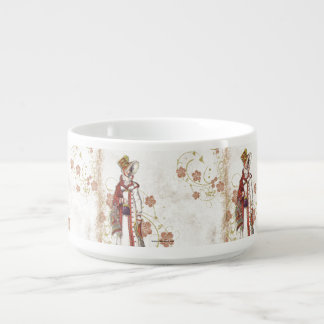 Victorian Woman Bowl