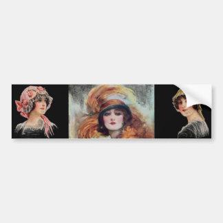 Victorian Woman Bumper Sticker