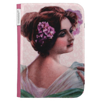 Victorian Woman Case For The Kindle