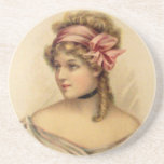 Victorian Woman Coaster