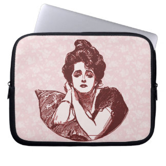 Victorian Woman Computer Sleeve