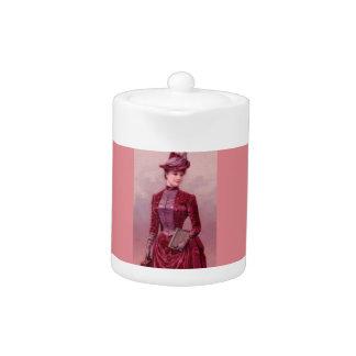 Victorian Woman In Velvet