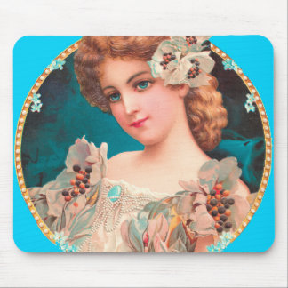 Victorian Woman Mouse Pad
