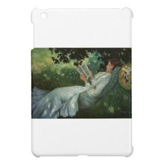 Victorian Woman Reading A Book iPad Mini Cover