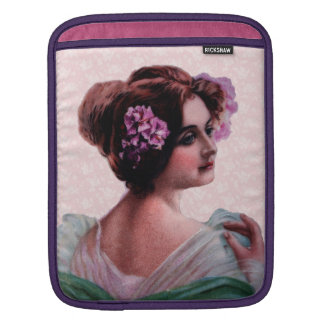 Victorian Woman Sleeve For iPads