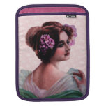 Victorian Woman Sleeves For iPads