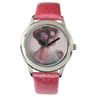 Victorian Woman Watches