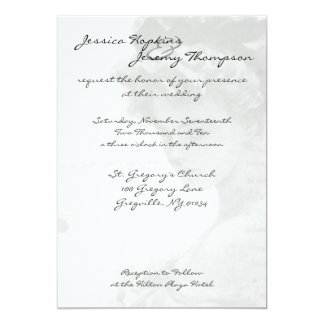 Victorian Woman Wedding Invitation Cards