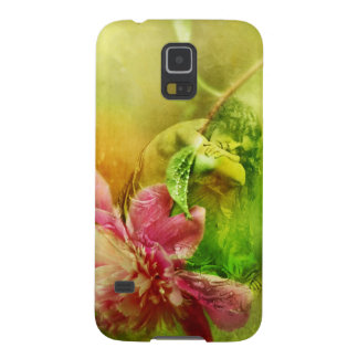 Victorian Woman with Pink Peony Galaxy S5 Cover