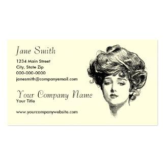 Victorian Women Business Card
