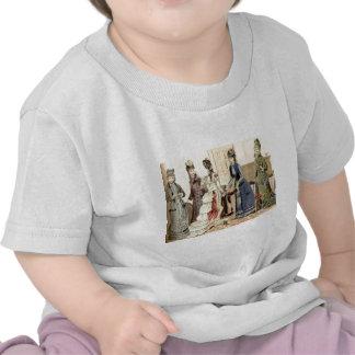 Victorian Women Fashion T Shirt