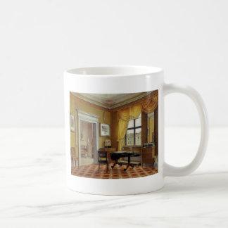 Victorian Yellow room with window Coffee Mug