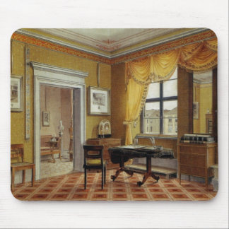 Victorian Yellow room with window Mouse Pad
