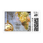 Victorian Yellow Rose Postage Stamps
