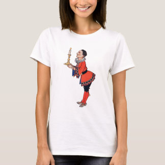 Victorian Young Boy Holding Candle T-Shirt