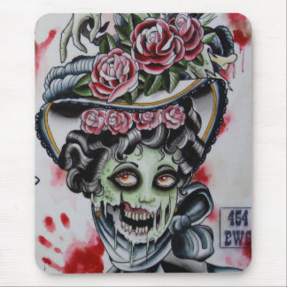 """""""Victorian Zombie 2"""" Mouse Pad"""