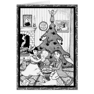 Victoriana Christmas Card