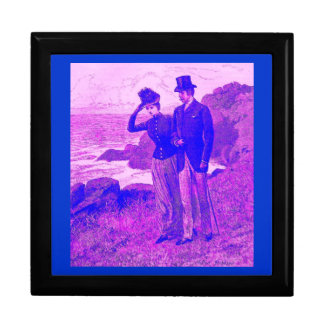 Victoriana Tiled Gift Box A Clifftop Walk