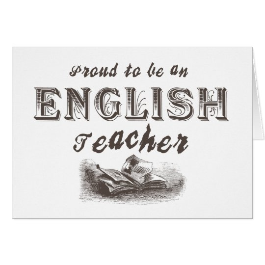 VictorianProudEnglishTeacher Card
