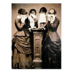 Victorians de luto postal