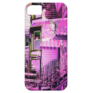 victorians life - mission district San francisco iPhone SE/5/5s Case