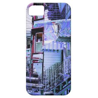 victorians life - mission district San francisco iPhone SE/5/5s Case