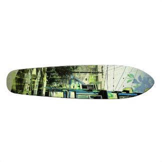victorians life - mission district San francisco Custom Skateboard