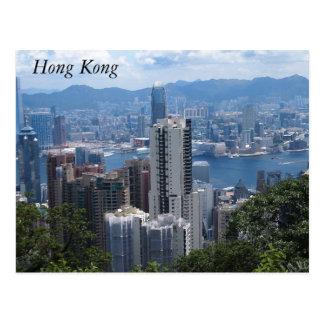 Victoria's Peak in Hong Kong Postcard