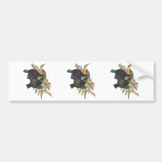 Victoria's Rifle Bird Bumper Sticker