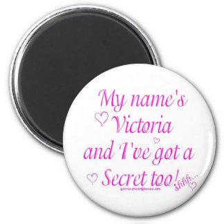 Victoria's Secret 2 Inch Round Magnet