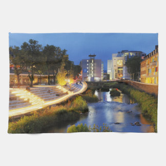 Victories victory banks to the blue hour hand towel