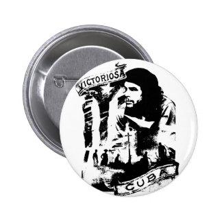 Victoriosa Cuba Button
