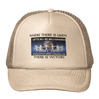 VICTORIOU$UNITY TRUCKER HAT