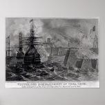 Victorious Bombardment of Vera Cruz Print