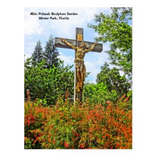 Victorious Christ Bronze Sculpture Winter Park, FL Postcard
