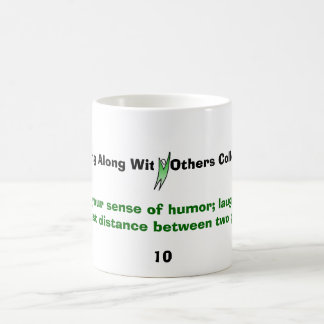 victorious man, Cultivate your sense of humor; ... Classic White Coffee Mug