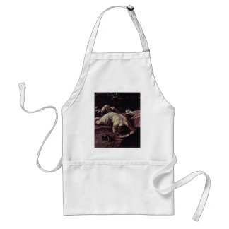 Victorious Samson Detail By Reni Guido Adult Apron