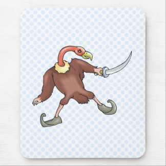 Victorious Vulture Mouse Pad