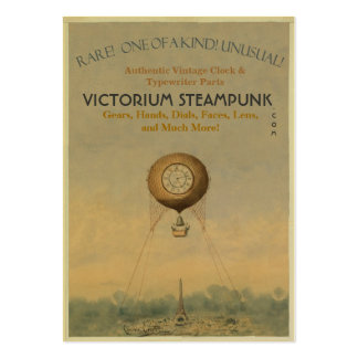 Victorium Steampunk Large Business Card