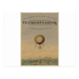 Victorium Steampunk Post Card