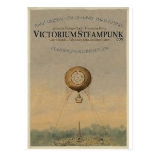 Victorium Steampunk Tarjeta Postal