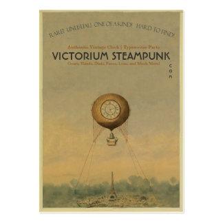 Victorium Steampunk Tarjetas De Visita Grandes