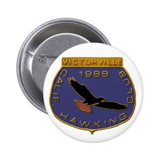 Victorville 1988 pin redondo de 2 pulgadas